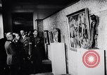 Image of art show Prague Czechoslovakia, 1944, second 59 stock footage video 65675031302