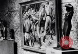 Image of art show Prague Czechoslovakia, 1944, second 60 stock footage video 65675031302