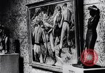 Image of art show Prague Czechoslovakia, 1944, second 61 stock footage video 65675031302