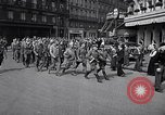 Image of Allied prisoners Paris France, 1944, second 11 stock footage video 65675031306