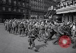 Image of Allied prisoners Paris France, 1944, second 15 stock footage video 65675031306