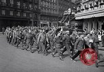 Image of Allied prisoners Paris France, 1944, second 17 stock footage video 65675031306