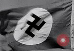 Image of Nazi Party flag Berlin Germany, 1935, second 1 stock footage video 65675031317