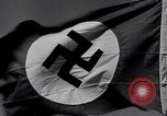 Image of Nazi Party flag Berlin Germany, 1935, second 6 stock footage video 65675031317
