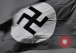 Image of Nazi Party flag Berlin Germany, 1935, second 16 stock footage video 65675031317