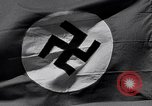Image of Nazi Party flag Berlin Germany, 1935, second 24 stock footage video 65675031317