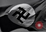 Image of Nazi Party flag Berlin Germany, 1935, second 27 stock footage video 65675031317