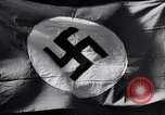 Image of Nazi Party flag Berlin Germany, 1935, second 30 stock footage video 65675031317