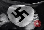 Image of Nazi Party flag Berlin Germany, 1935, second 34 stock footage video 65675031317