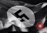 Image of Nazi Party flag Berlin Germany, 1935, second 38 stock footage video 65675031317