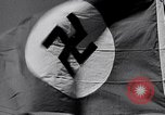 Image of Nazi Party flag Berlin Germany, 1935, second 46 stock footage video 65675031317
