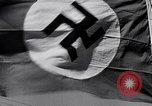 Image of Nazi Party flag Berlin Germany, 1935, second 48 stock footage video 65675031317