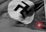 Image of Nazi Party flag Berlin Germany, 1935, second 51 stock footage video 65675031317