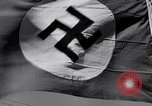 Image of Nazi Party flag Berlin Germany, 1935, second 52 stock footage video 65675031317