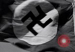Image of Nazi Party flag Berlin Germany, 1935, second 54 stock footage video 65675031317