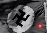 Image of Nazi Party flag Berlin Germany, 1935, second 55 stock footage video 65675031317