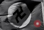 Image of Nazi Party flag Berlin Germany, 1935, second 57 stock footage video 65675031317