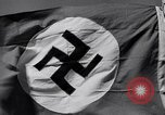 Image of Nazi Party flag Berlin Germany, 1935, second 58 stock footage video 65675031317