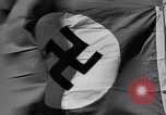 Image of Nazi Party flag Berlin Germany, 1935, second 59 stock footage video 65675031317