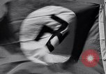 Image of Nazi Party flag Berlin Germany, 1935, second 61 stock footage video 65675031317