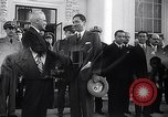 Image of President Truman greets heads of state United States USA, 1948, second 7 stock footage video 65675031323