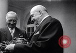Image of President Truman greets heads of state United States USA, 1948, second 8 stock footage video 65675031323