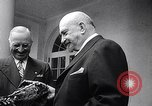Image of President Truman greets heads of state United States USA, 1948, second 9 stock footage video 65675031323