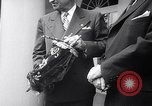 Image of President Truman greets heads of state United States USA, 1948, second 15 stock footage video 65675031323