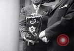 Image of President Truman greets heads of state United States USA, 1948, second 17 stock footage video 65675031323