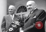 Image of President Truman greets heads of state United States USA, 1948, second 19 stock footage video 65675031323