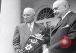 Image of President Truman greets heads of state United States USA, 1948, second 23 stock footage video 65675031323
