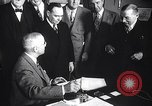 Image of President Truman greets heads of state United States USA, 1948, second 48 stock footage video 65675031323