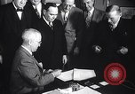 Image of President Truman greets heads of state United States USA, 1948, second 49 stock footage video 65675031323