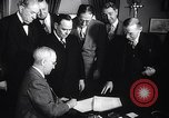 Image of President Truman greets heads of state United States USA, 1948, second 51 stock footage video 65675031323
