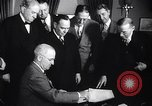 Image of President Truman greets heads of state United States USA, 1948, second 53 stock footage video 65675031323