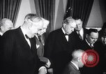 Image of President Truman greets heads of state United States USA, 1948, second 56 stock footage video 65675031323