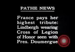Image of Charles Lindbergh Paris France, 1927, second 2 stock footage video 65675031336