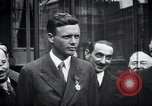 Image of Charles Lindbergh Paris France, 1927, second 15 stock footage video 65675031336
