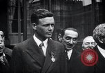 Image of Charles Lindbergh Paris France, 1927, second 16 stock footage video 65675031336