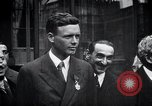 Image of Charles Lindbergh Paris France, 1927, second 17 stock footage video 65675031336