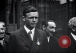 Image of Charles Lindbergh Paris France, 1927, second 18 stock footage video 65675031336