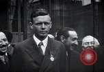 Image of Charles Lindbergh Paris France, 1927, second 20 stock footage video 65675031336