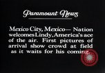 Image of Charles Lindbergh Mexico City Mexico, 1927, second 9 stock footage video 65675031339