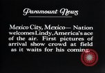 Image of Charles Lindbergh Mexico City Mexico, 1927, second 10 stock footage video 65675031339