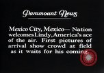 Image of Charles Lindbergh Mexico City Mexico, 1927, second 13 stock footage video 65675031339