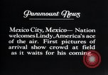 Image of Charles Lindbergh Mexico City Mexico, 1927, second 14 stock footage video 65675031339