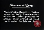 Image of Charles Lindbergh Mexico City Mexico, 1927, second 15 stock footage video 65675031339