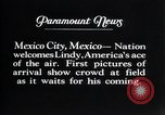 Image of Charles Lindbergh Mexico City Mexico, 1927, second 16 stock footage video 65675031339