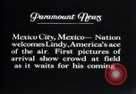Image of Charles Lindbergh Mexico City Mexico, 1927, second 17 stock footage video 65675031339