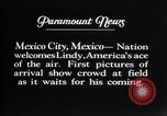 Image of Charles Lindbergh Mexico City Mexico, 1927, second 18 stock footage video 65675031339